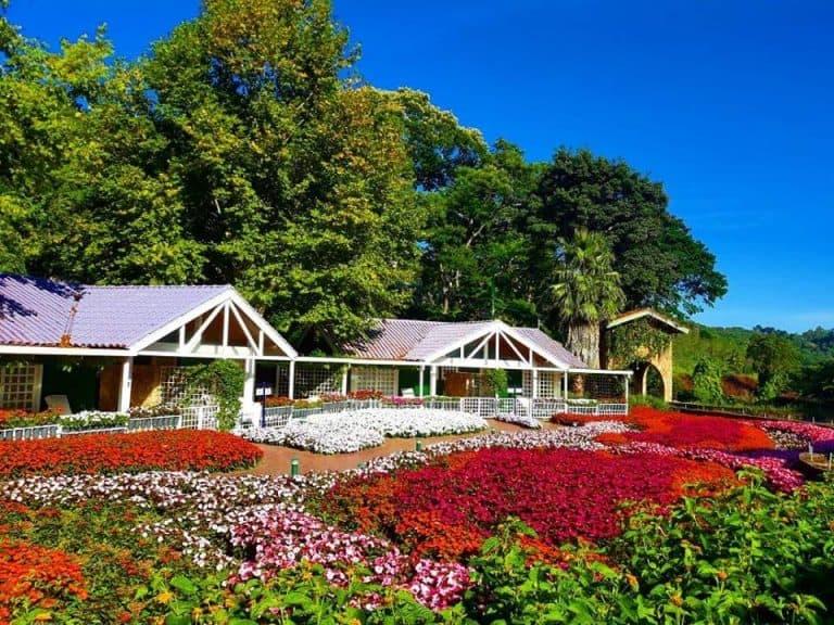 Pertinho de SP, hotel na Serra da Cantareira tem comida da horta e lindos jardins