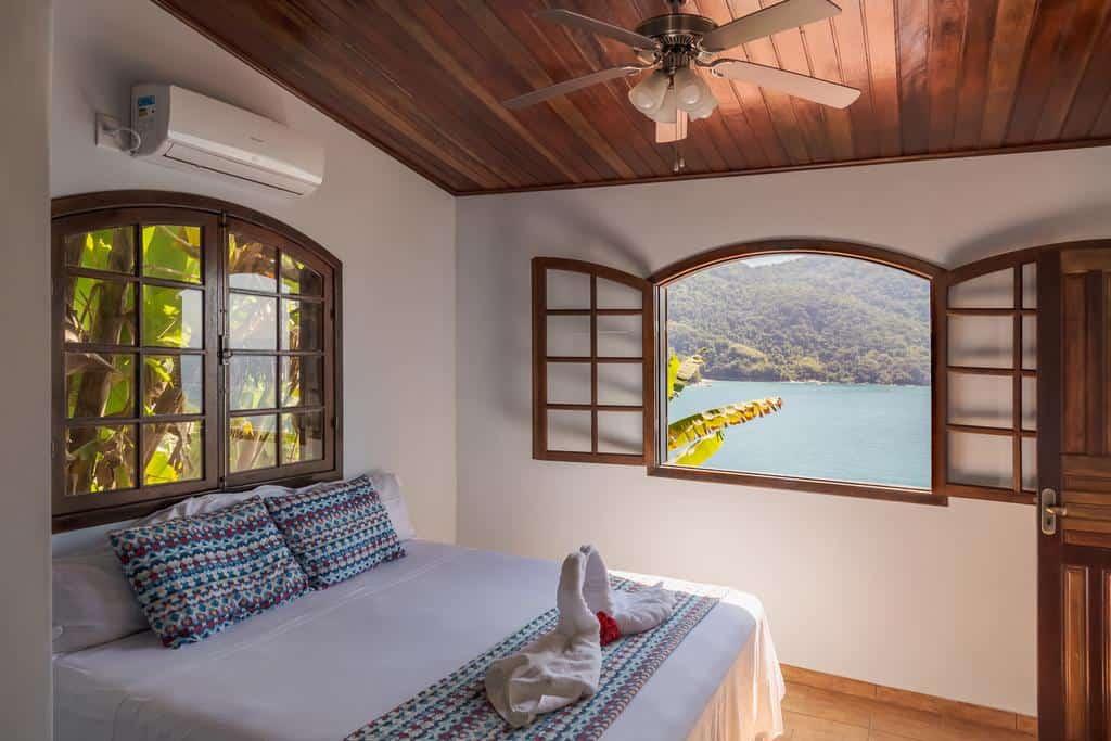 Hotel em Ilha Grande com vista espetacular!