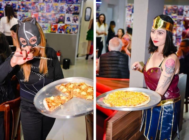 liga dos herois pizzaria em curitiba