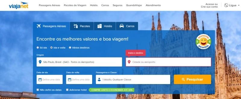 sites seguros para comprar passagens aéreas