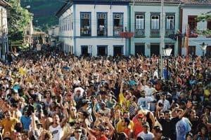 Carnaval em São Luiz do Paraitinga é um dos mais animados no interior paulista