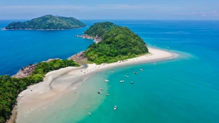 As Ilhas é opção de passeio e mergulho em São Sebastião