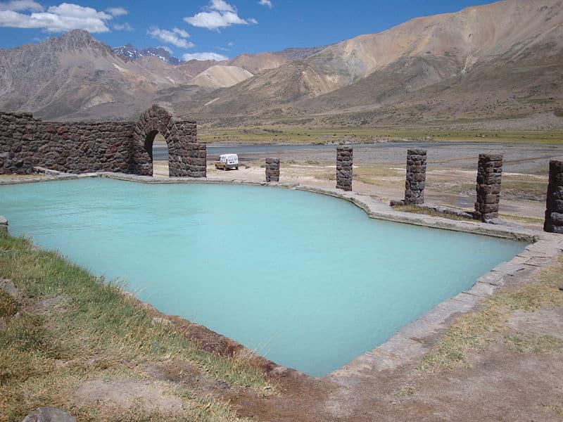 Termas el Sosneado: um dos lugares mais difíceis de chegar e mais fabulosos da Argentina