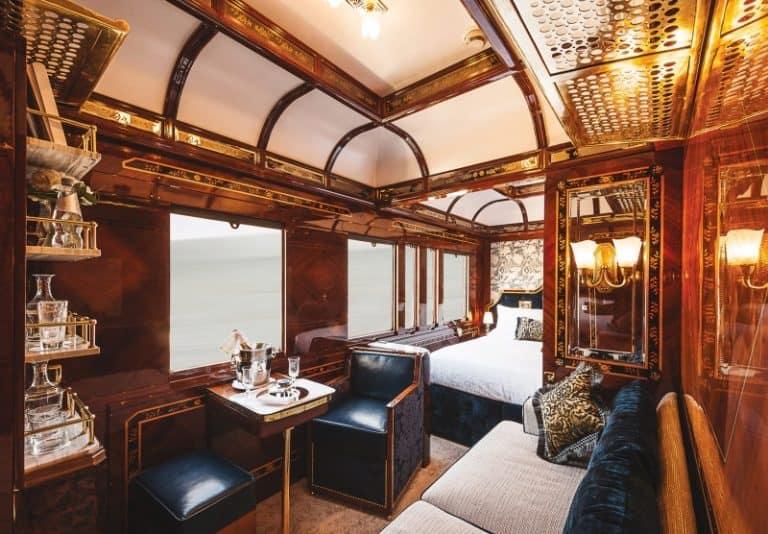Esta viagem dos sonhos de trem pela Europa é a cara da riqueza