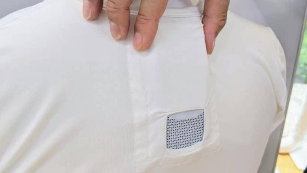 Ar condicionado para roupa alivia viajantes das ondas de calor