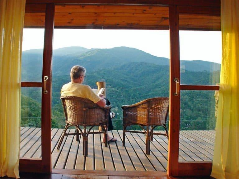 Esta cabana maravilhosa em Visconde de Mauá tem vista privilegiada para as montanhas