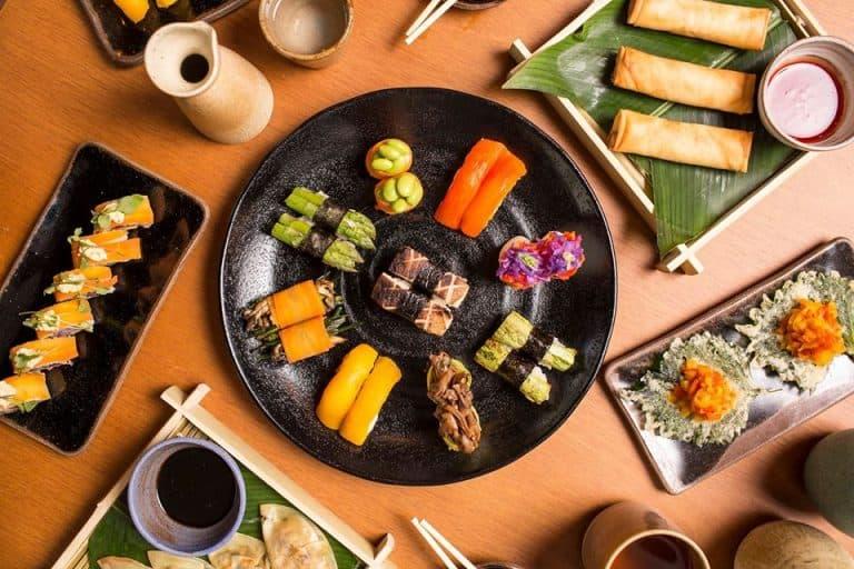 Rodízio vegano de comida japonesa em SP surpreende com sabores e texturas inovadoras