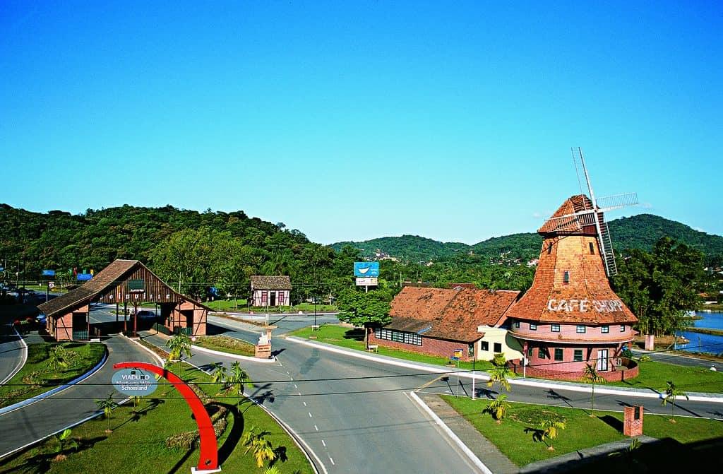 joinville melhor estado do Brasil para viajar