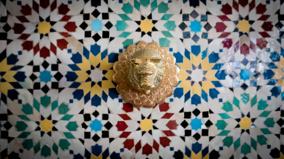decoração marroquina