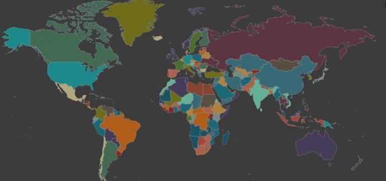 Mapa de línguas e sotaques mostra regionalismos do mundo todo
