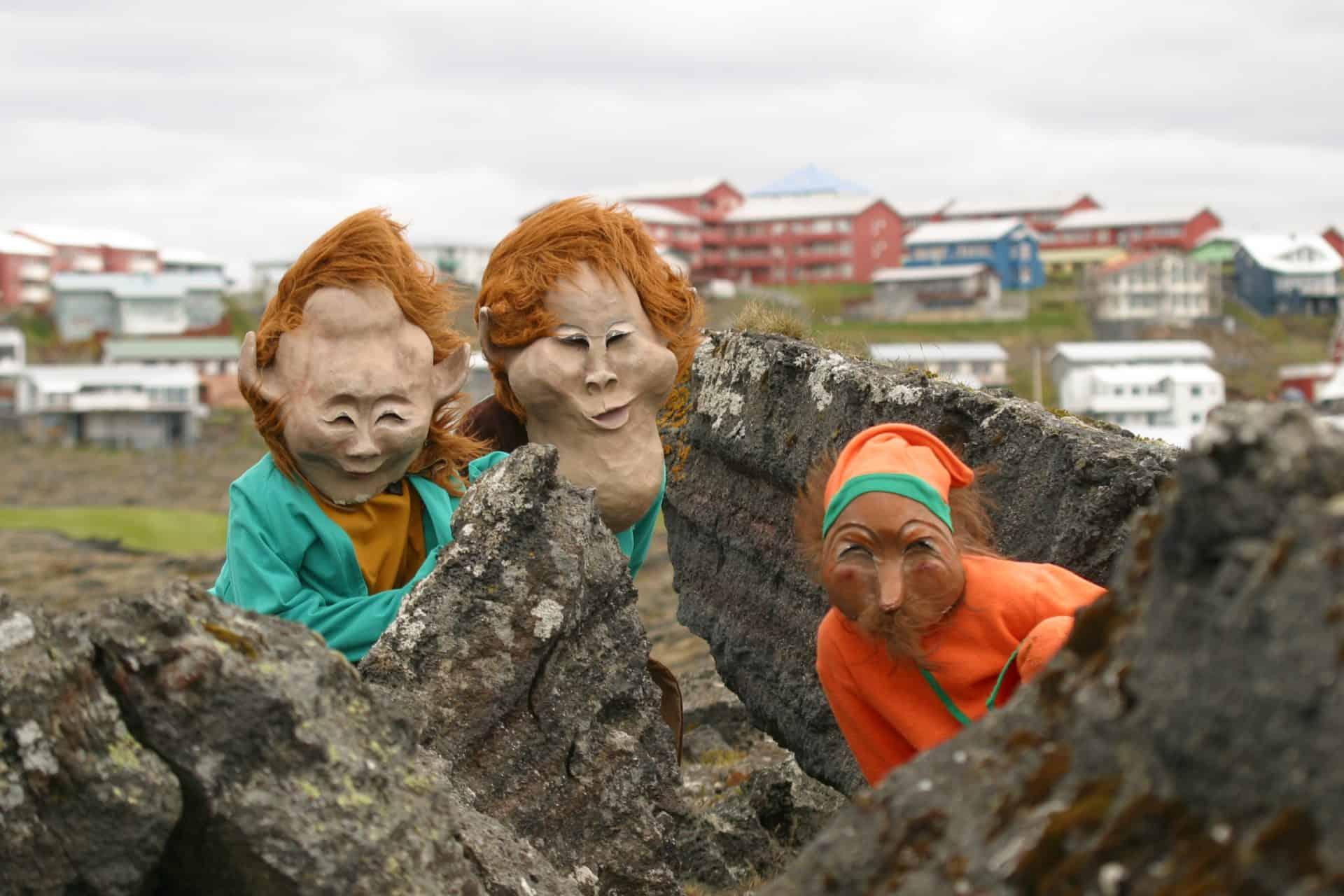 Moradores místicos: visite os elfos naIslândia