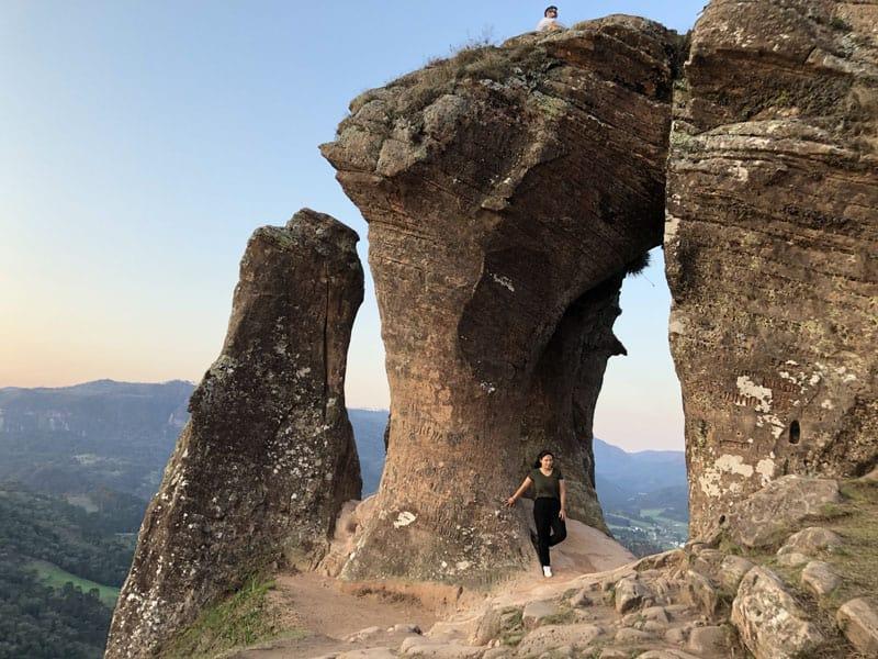 """Morro do Campestre – a """"nova pedra furada"""" de Urubici com um visual incrível"""