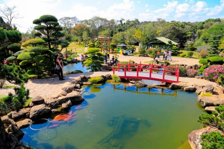 Parque Maeda tem lazer na natureza e o maior jardim japonês dopaís