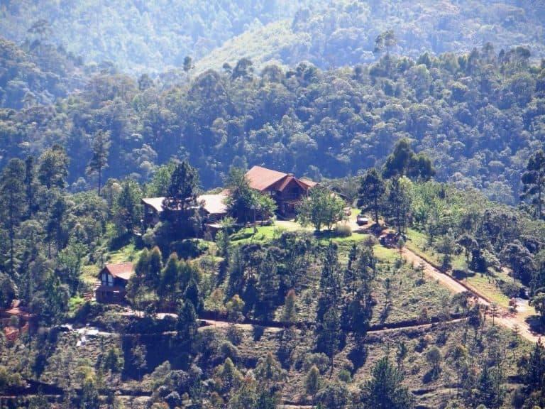 Pousada em Minas Gerais é um refúgio nas montanhas