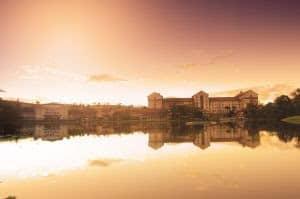 Grande Hotel Termas Araxá é cenário para casais em lua de mel que buscam por bem-estar