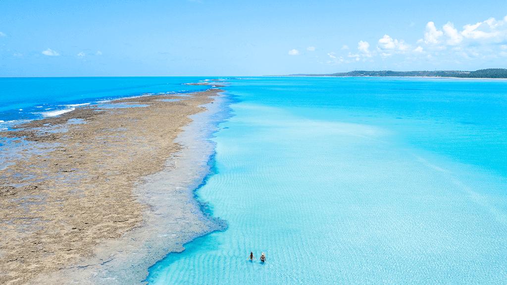 Croa de São Bento: paraíso no meio do mar cristalino emAlagoas