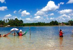 Lagoa do Cassó expande as belezas da região de Lençóis Maranhenses