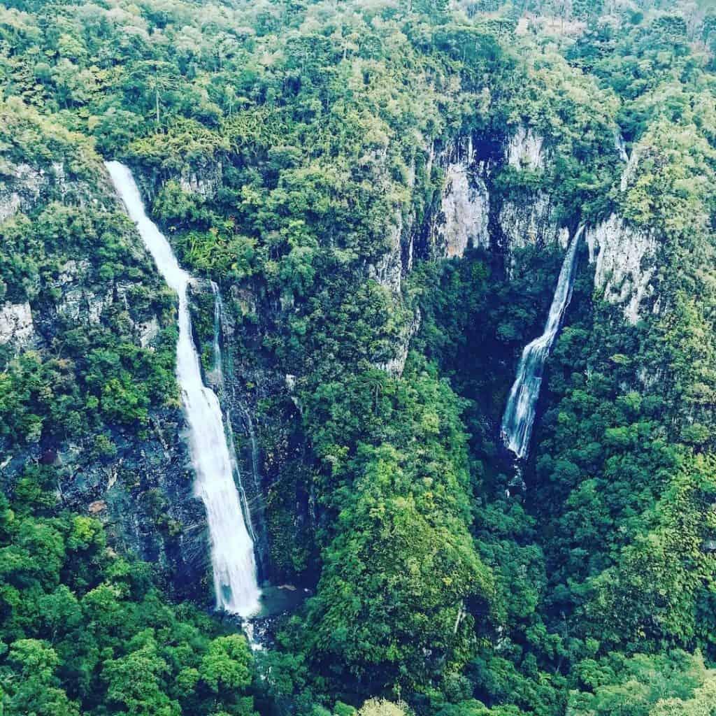 cachoeira papuã em urubici