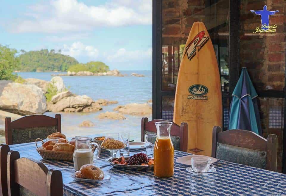 pousada e restaurante jaguanum