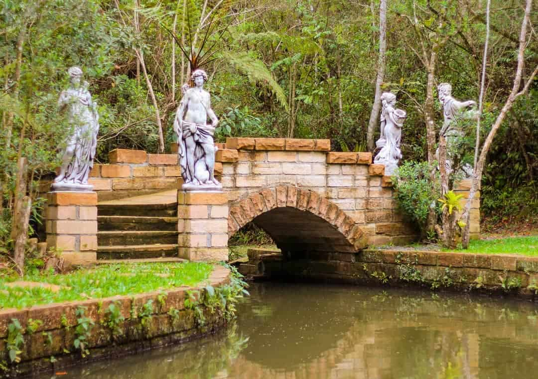 Aguaí Santuário Ecológico: cenário de conto de fadas em SantaCatarina