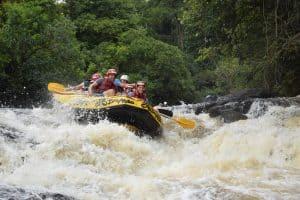 Lave a alma: rafting emBrotas tem adrenalina para humanos e pets