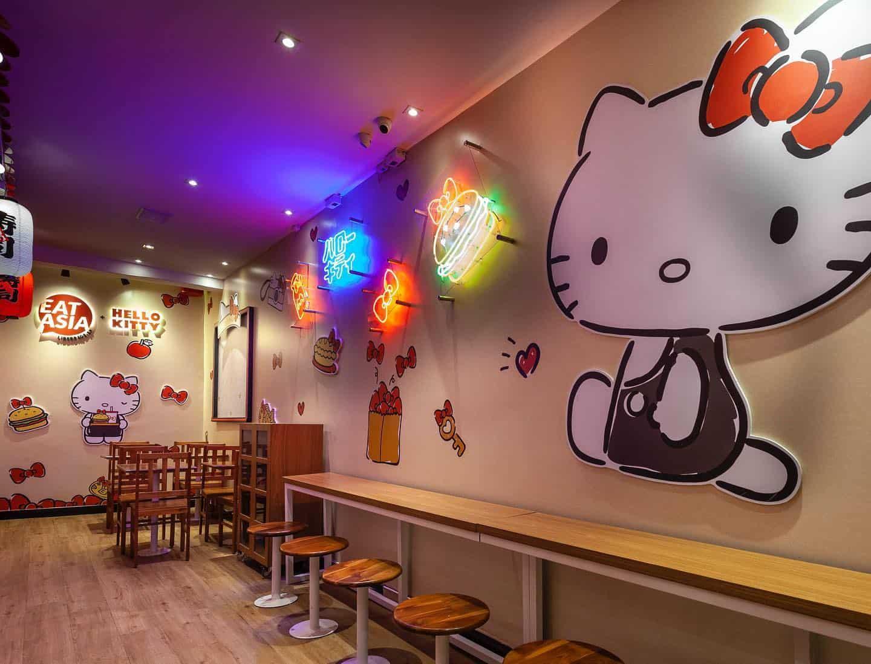 Fofura pura: conheça o restaurante da Hello Kitty em São Paulo