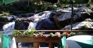 Restaurante Recanto da Ilha em SC: comida caseira boa e paisagem ao redor linda