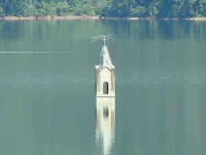 Capela submersa e ecoturismo são atrações turísticas em Siderópolis-SC