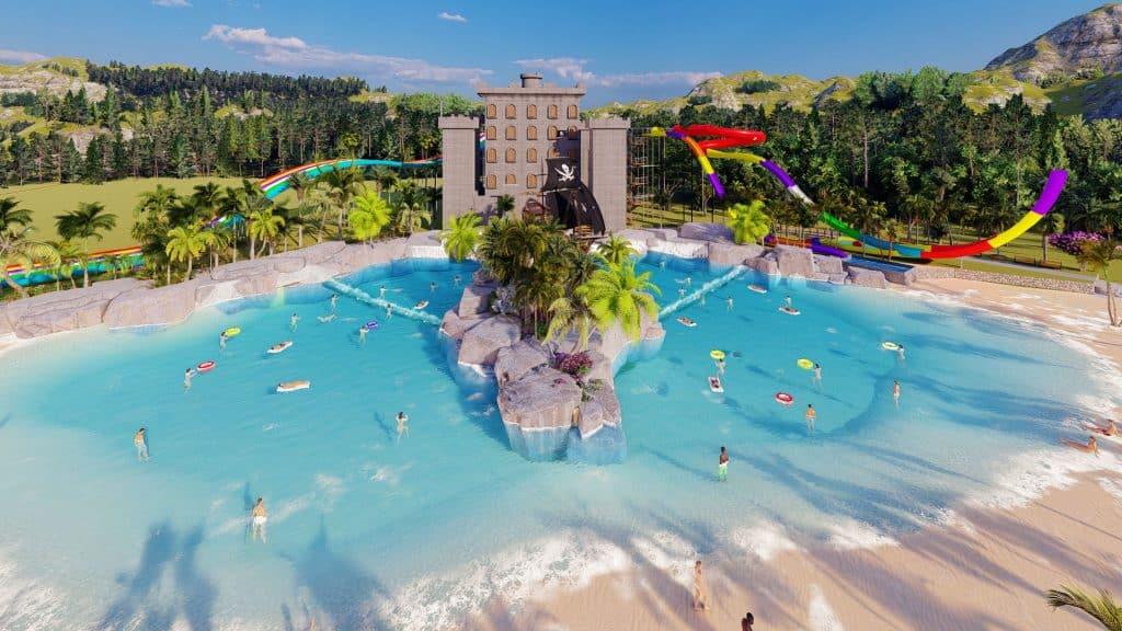 Minas Gerais ganhará novo parque aquático em 2022