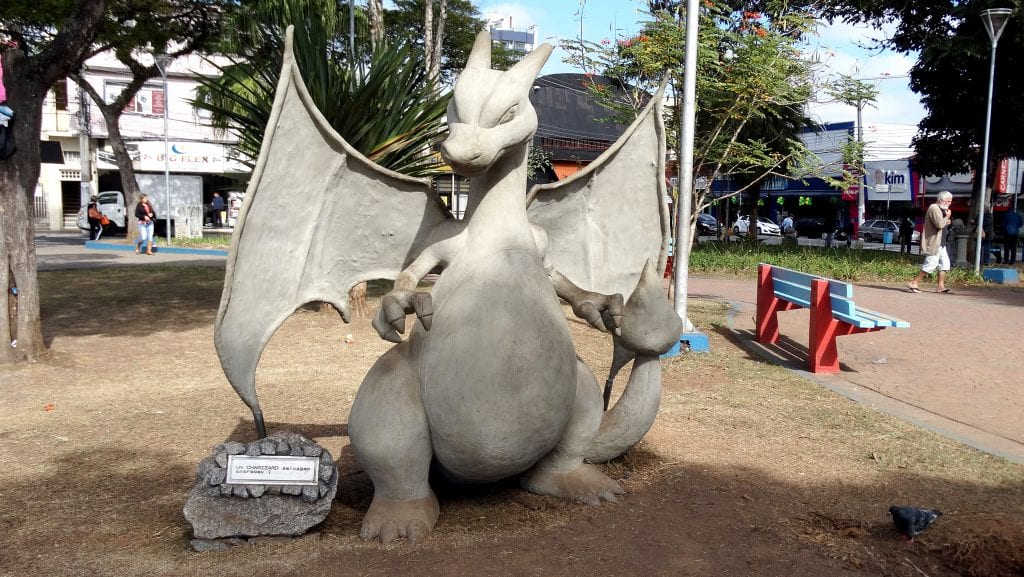 Capital nacional do Pokémon tem monumentos misteriosos do anime