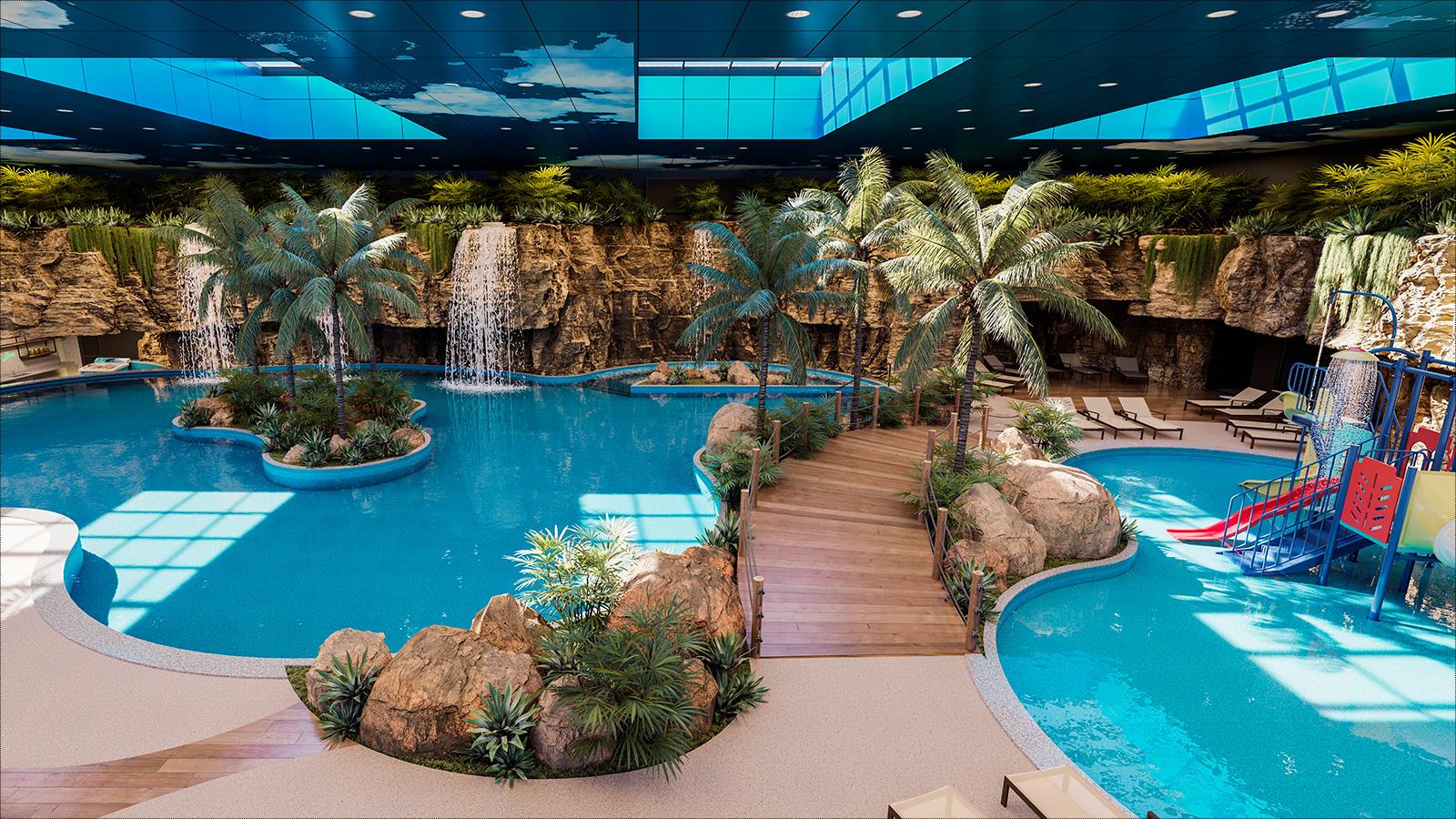 Paraná ganhará um parque aquático termal indoor