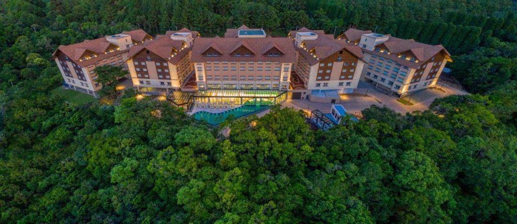 Fachada Wyndham Termas Resort