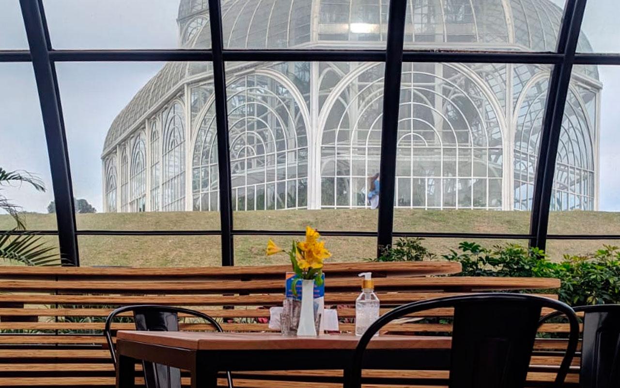 Café no Jardim Botânico é nova opção em Curitiba