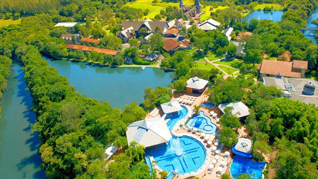 Lagos de Jurema Resort no interior do Paraná garante descanso e contato com a natureza