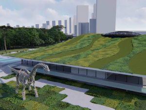 Museu de História Natural em Curitiba: nova atração ficará no Jardim Botânico