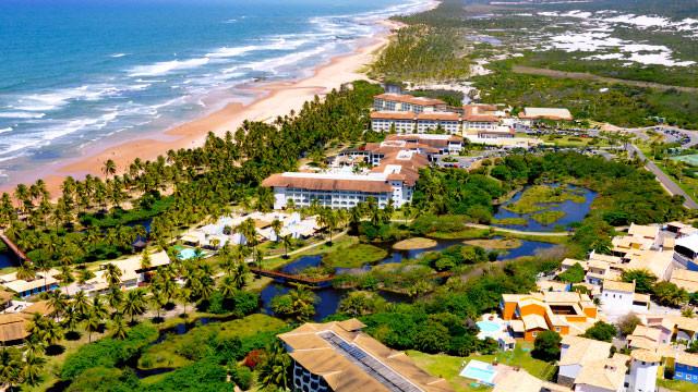 Suas férias merecem all-inclusive pé na areia na Costa do Sauípe