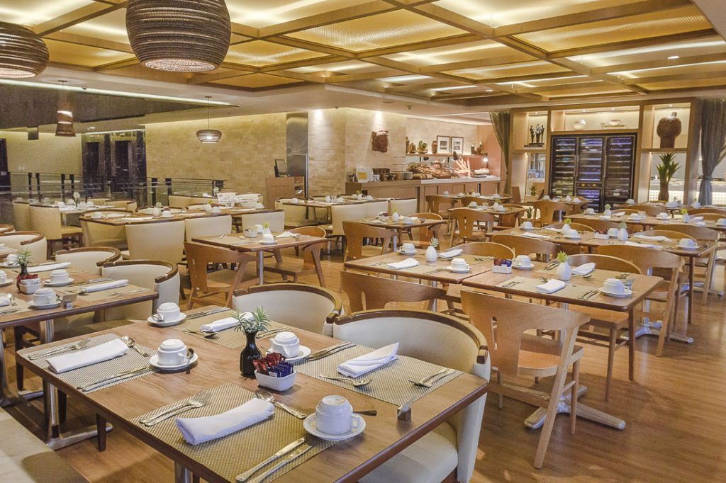 Restaurante Mucuripe/Foto: Divulgação Hotel Gran Marquise