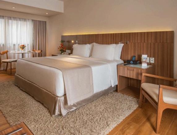 Quarto hospedagem em fortaleza/ Foto:Divulgação Hotel Gran Marquise