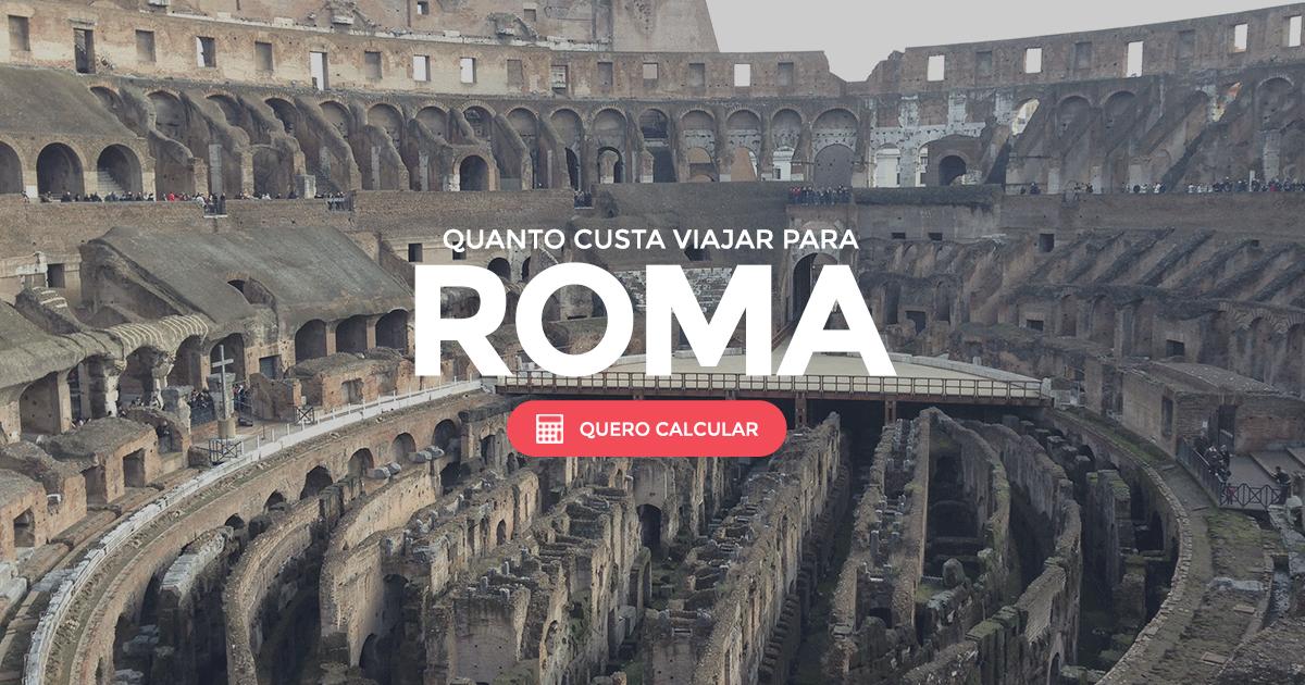 Roma, descubra todos os custos e dicas para viajar!