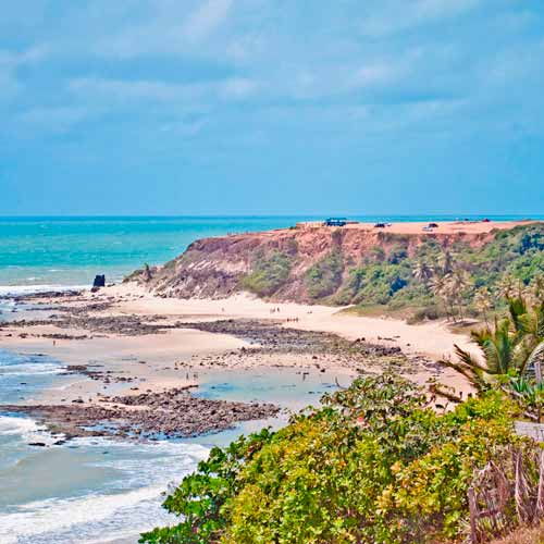 Passeio de buggy na Praia da Pipa