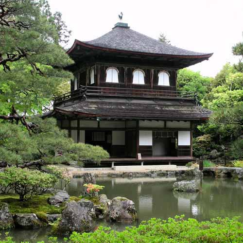 Templo Ginkaku-ji (Pavilhão de Prata)