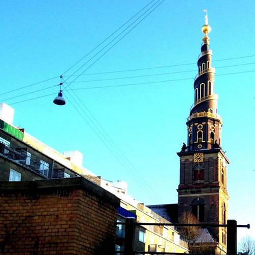 Torre Igreja Vor Frelsers