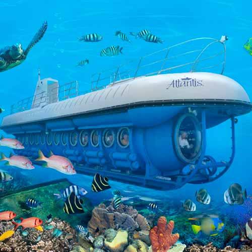 Atlantis - Passeio de submarino