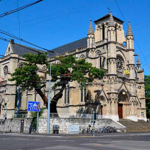 Basílica de Notre Dame Genebra
