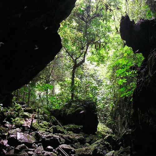 Passeio caverna Fun Fun