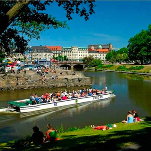 Cruzeiro canais de Gotemburgo