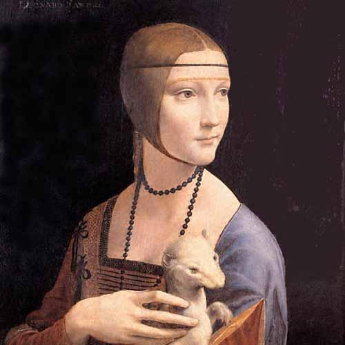 Visita à obra Lady with an Ermine (Leonardo Da Vinci)