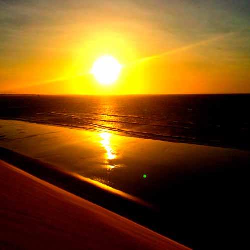 Pôr do Sol nas Dunas