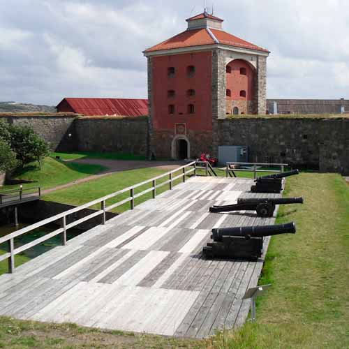 Tour fortaleza Älvsborg