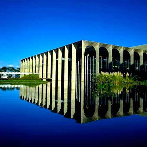 Palácio Itamarati, Palácio da Alvorada e Palácio do Planalto